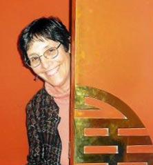Barbara Hirschfeld at Karma Choling, VT