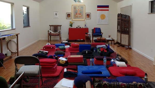 Meditation Hall photograph